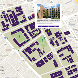 Tohoku University Interactive Map