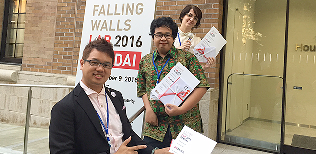 Falling Walls Lab Sendai 2016 - Boys (and Girls) Be Ambitious!