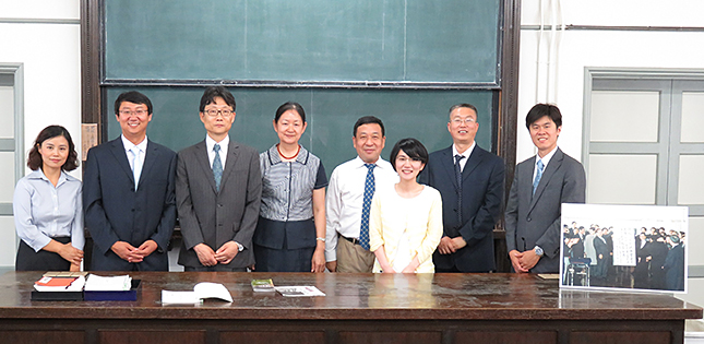 Nankai University Vice-President Visits Tohoku University