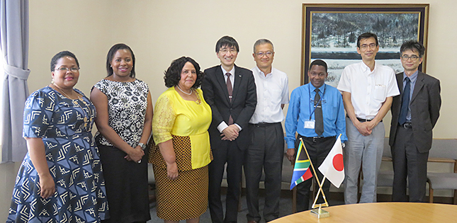 A visit from the Ambassador of South Africa