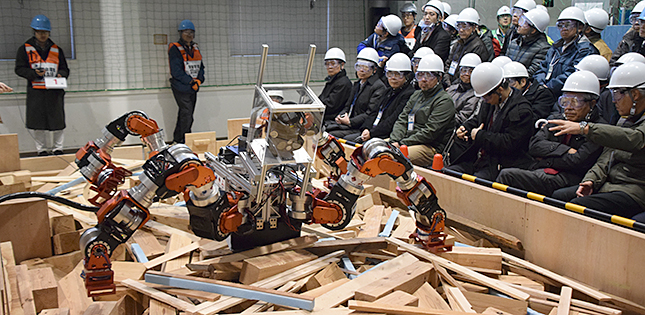 Tough Robotics Challenge – For When the Going Gets Tough