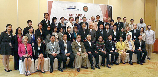 EVP Toshiya Ueki attends the 14th APRU Senior Staff Meeting