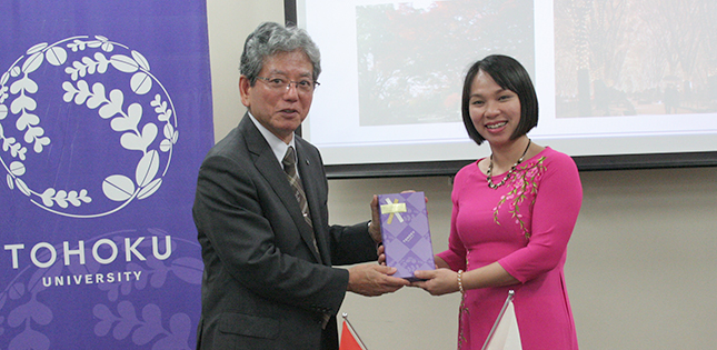 A Visit from Vietnam's Thai Binh University