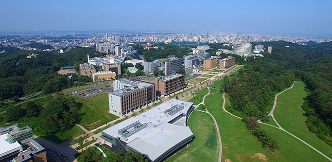 Aobayama Campus extends to new heights