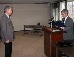平成18年度東北大学全学教育貢献賞表彰式