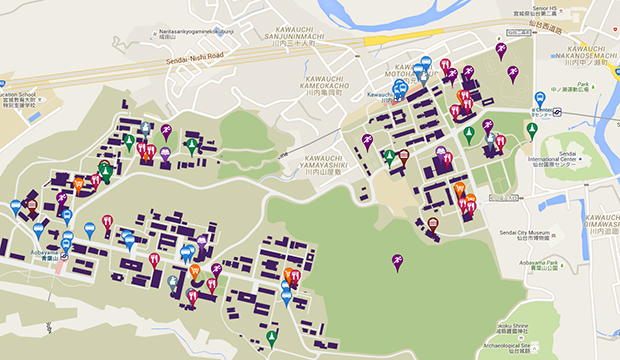 Map Directions Tohoku University Global Site