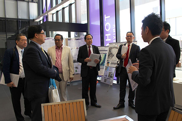 News - A Visit from the Presidents of Siam University and CMKL