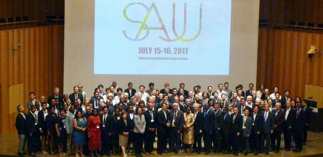 News EVP Toshiya Ueki Attends South AfricaJapan University - Japan map ueki
